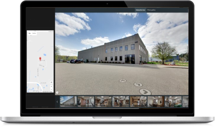 commercial real estate, 3d, interactive, tour